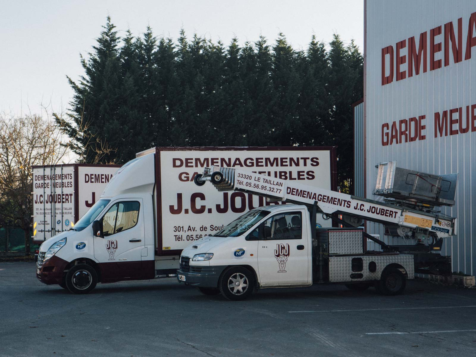 demenagement joubert